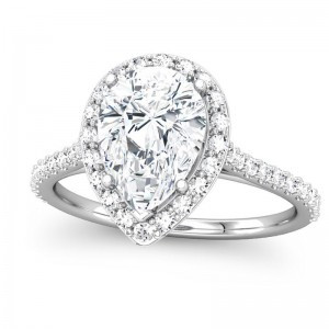 pear shaped ring