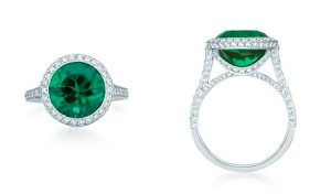 tiffany emerald ring