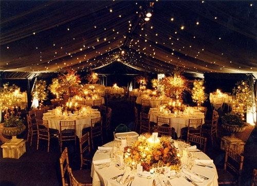golden wedding theme