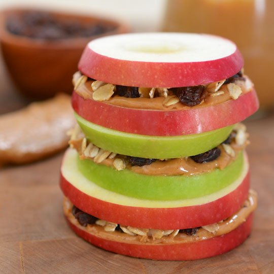 apple caramel sandwich