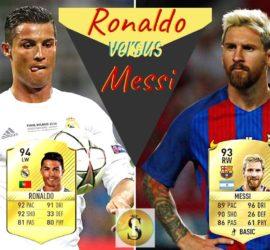 Ronaldo Vs Messi 2018 - SocioFab