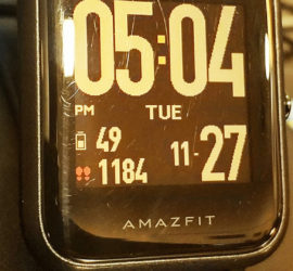 Amazfit BIP Watch Face Customised - SocioFab